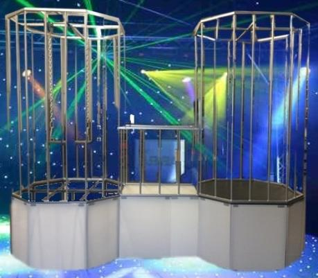 Gogo Cage Go Go Stage For Sale Rent Go Go Cage