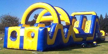 Obstacle Course Bungee Twister Special Event